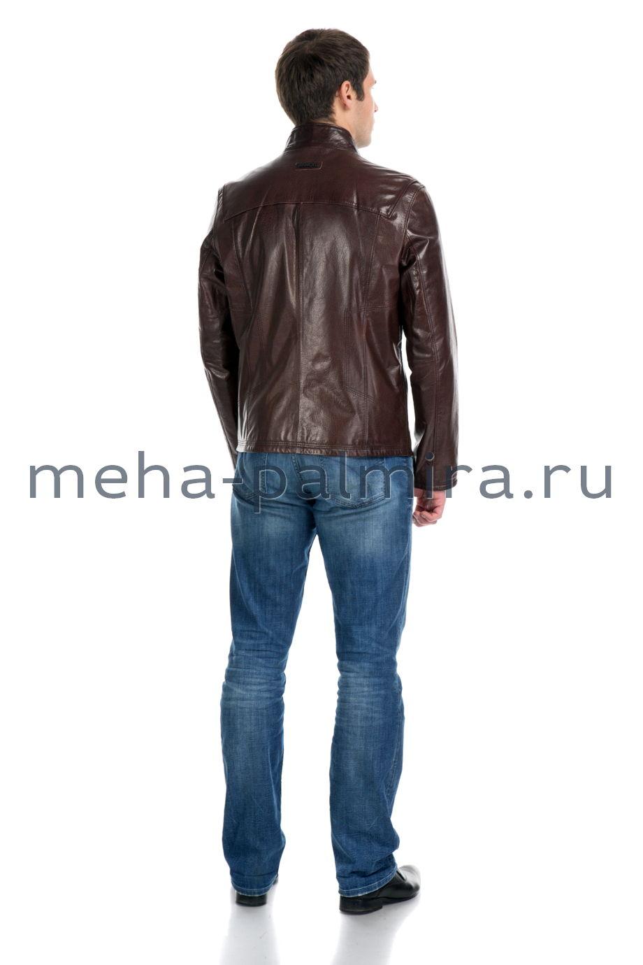 Коричневые Кожаные Куртки