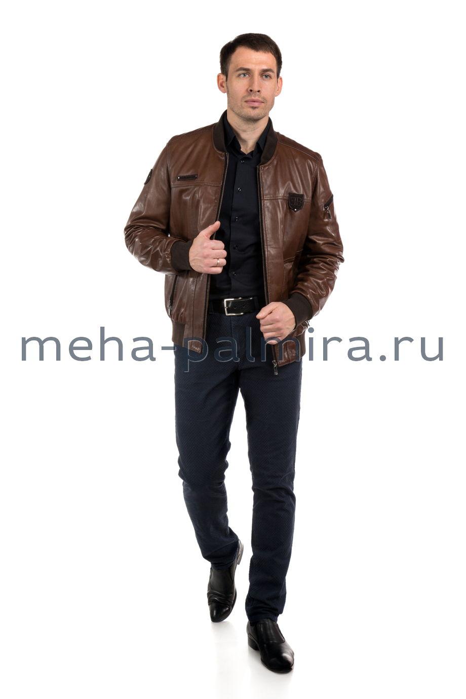 Куртка - бомбер на молнии, цвет кэмел, Италия