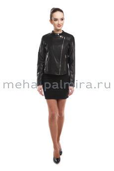 Черная куртка косуха