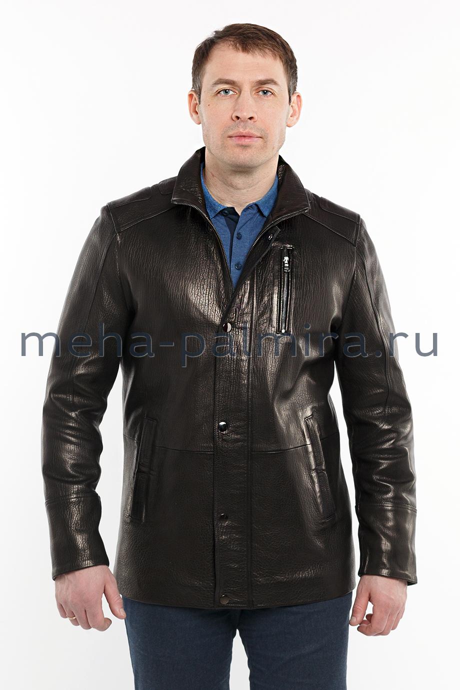 Куртка из натуральной кожи мужская
