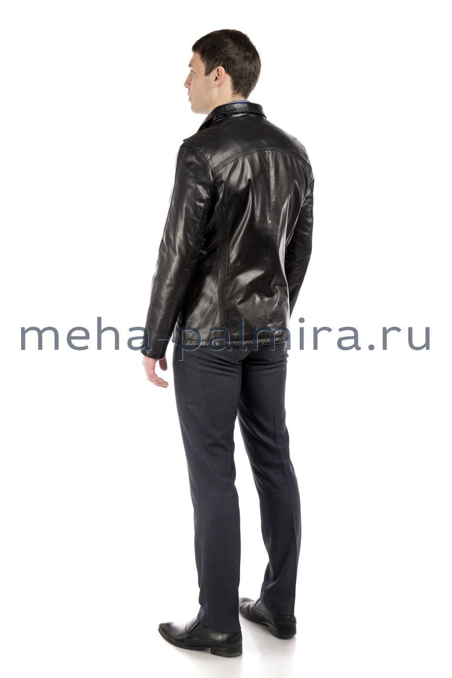 Куртка для мужчин из натуральной кожи