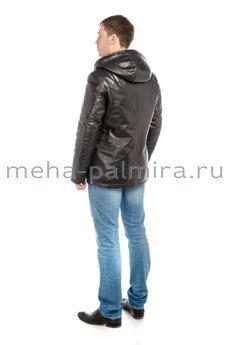 Мужская куртка с капюшоном