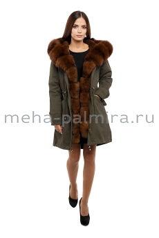 Зимняя куртка - парка с мехом
