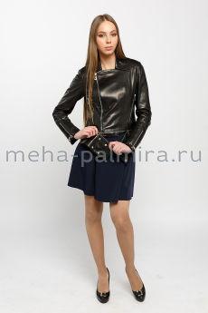 Куртка косуха черного цвета