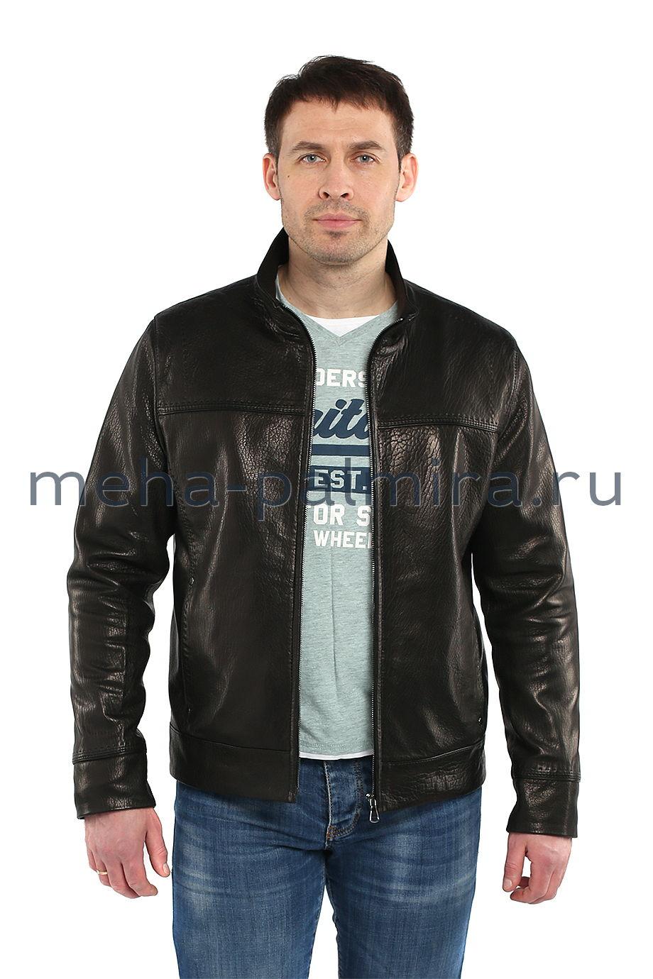 Стильная кожаная куртка для мужчин