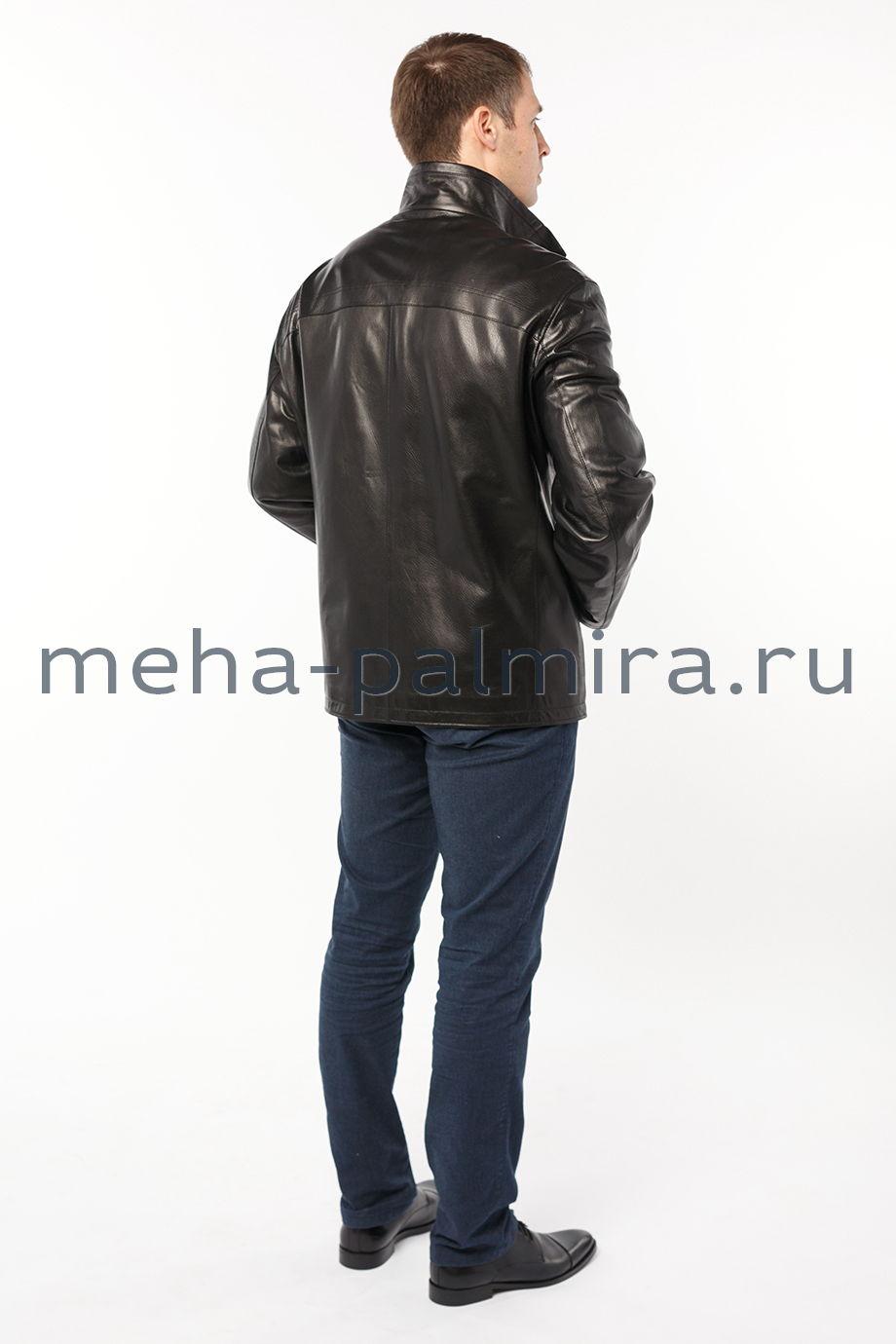 Мужская кожаная куртка большие размеры
